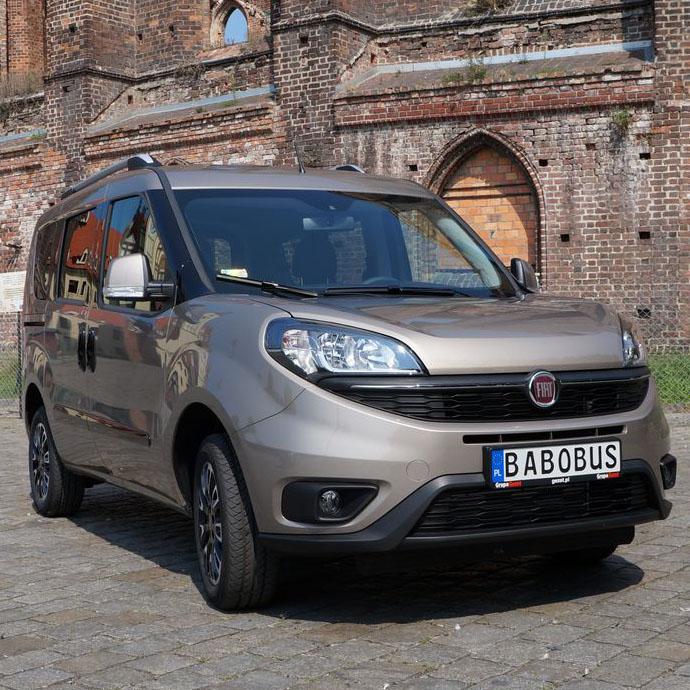 Fiat Doblo 1.4 T-jet 120 KM + LPG